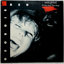 """GEORGIE RED -- IF I SAY STOP THEN STOP ---------- 12"""" MAXI SINGLE 1985"""