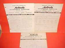 1940 1941 CHRYSLER IMPERIAL DESOTO DODGE PLYMOUTH MOTOROLA RADIO SERVICE MANUAL