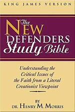 KJV New Defenders Study Bible, Morris  Ph.D, Dr. Henry, Acceptable Book