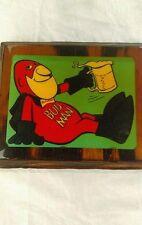 Bud Man Budweiser Plaque