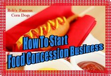 FOOD Truck CONCESSION TRAILER BUSINESS SECRETS Be your own Boss MAKE Big MONEY