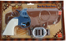 Western Cowboy Water Pistol Gun with Holsters Belt Fancy Dress Accessories 25207