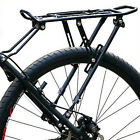 New Cycling Bike Bicycle Aluminum Alloy Front Rack Panniers Bag Bracket Black