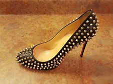 Christian Louboutin 'Follies' Spike Pointy Toe Pump Black 10 US 40 Eur. $1295