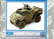 Accurate Armour 1:35 British WWII Humber Scout Car - Resin Kit #K99