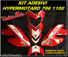 kit adesivi per ducati hypermotard 796 1100 decals stickers ducati hypermotard
