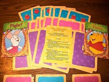 Disney I Can Learn with Pooh Early Skills Pooh's Number Match Card Game Num:0-10