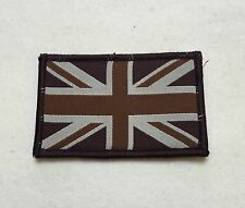 Union Jack Badge, Subdued Velcro, TRF, Military, Army, Sleeve, Arm, Patch