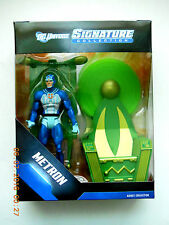 DC UNIVERSE DCUC SIGNATURE SERIES METRON W/ MOEBIUS CHAIR ACTION FIGURE SET! NEW