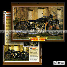 #096.10 Fiche Moto SAROLEA 600 S6 SUPERSPORT 1939 Classic Motorcycle Card