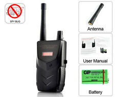 Wireless Tap Detector GPS Spy Bug RF Signal & Wire Tap Detector GSM CDMA
