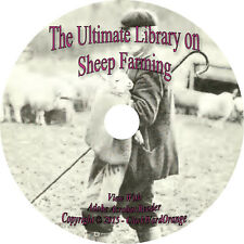 44 RARE Books on CD Sheep Farming, Husbandry, How to, For Profit, Raise, Breed