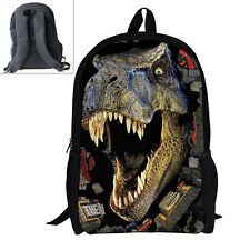 3D Dinosaur Boys Sport Backpack Print School Bags Book Bag for Kids Hot Sale
