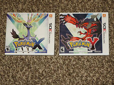 Brand New! Pokemon X + Y Games Nintendo 3DS Fast Shipping! Sealed Action RPG