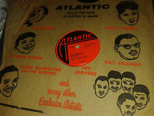THE DRIFTERS : ADORABLE / STEAMBOAT.  US.78rpm (1955)