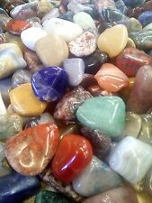 20 tumbled stones Large (20 - 30mm) polished crystal tumblestones gemstone