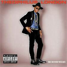 THEOPHILUS LONDON : TIMEZ ARE WEIRD THESE DAYS (CD) sealed