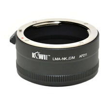 Lens Mount Adapter for Nikon F AI lens on Canon EFM Mount Camera Body LMA-NK_C/M