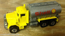 1979 Mattel Hot Wheels Yellow Shell Peterbilt Truck! Great Shape! See Pics!