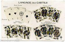 LANGAGES DES CARTES . VOYANCE . LANGUAGES CARD . FORTUNE TELLING