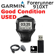 Garmin Forerunner 910XT GPS Sport Watch ANT+ Running Bike Swim Black