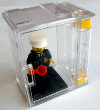1 LEGO MINIFIGURE DISPLAY BOX CASE with a flip door Transparent and expandable