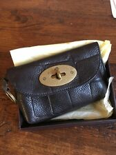 Mulberry Coin Purse Wallet Brown Postmans Lock