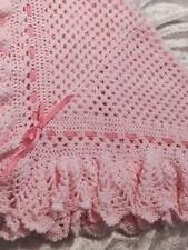 No 101 Pineapple Baby Shawl Crochet Pattern