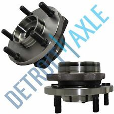 Pair of 2 NEW Front Driver and Passenger Complete Wheel Hub and Bearing Assembly