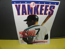 MLB NEW YORK YANKEES 1995 COMMEMORATIVE  MICKEY MANTLE  EDITION PROGRAM