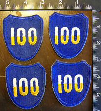 AMERICAN US ARMY MILITARY PATCHES LOT OF 4-LOT-AM-26