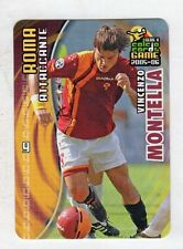 figurina PANINI CALCIO CARDS GAME 2005-06 N. 160 ROMA MONTELLA