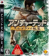 Used PS3 Uncharted El Dorado no Hihou PLAYSTATION 3 SONY JAPAN JAPANESE IMPORT