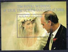 Tuvalu Nukulaelae - 1986 Royal Wedding - Mi. Bl. 5 MNH