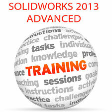 Solidworks 2013 advanced-video training tutorial dvd