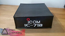Icom IC-718 Radio Dust Cover By DX Covers Manufacturer's Logo Approved
