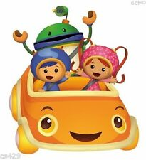"8"" TEAM UMIZOOMI GEO MILLI BOT UMICAR CAR  CHARACTER BIRTHDAY WALL DECOR CUT OUT"