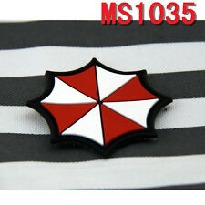 Current Militaria Patches Resident Evil Umberlla Logo PVC Rubber Velcro Patch