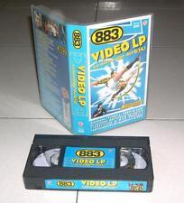 Vhs 883 LA DURA LEGGE DEL GOL Video Lp Max Pezzali Claudio Cecchetto 1997