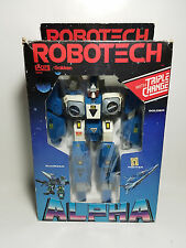 Robotech Blue Alpha Fighter Mars Base  - Scott Bernard 1980s Mospeada Legioss