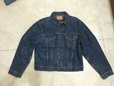 LEVI BIG E VINTAGE BLUE DENIM Type 3 JACKET MADE IN USA levis lvc