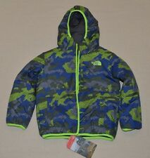 The North Face Toddler Perrito Reversible Jacket Boys Toddler 3T Graphite Grey