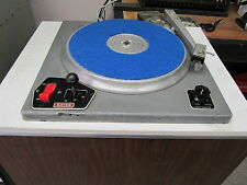 Gates CB77 Broadcast Turntable and Arm
