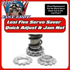 TEAM FASTEDDY LOSI 5IVE-T EASY ADJUST SERVO SAVER AND JAM NUT