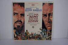 Alex North The Agony And The Ecstasy Original Soundtrack Recording Vinyl LP