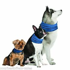 Dog Cooling Collar Large Xlarge Pet Grooming Supplies Dog cooling Bandana Blue