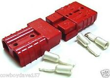Anderson SB175 Connector Kit Red 2 Awg 6329G5 2 Pack  2 housings and 4 contacts