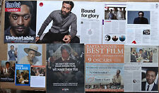Chiwetel Ejiofor- clippings/cuttings/articles pack - 12 Years A Slave
