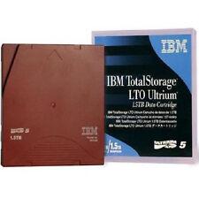 IBM 46X1290 LTO5 ULTRIUM 1.5 TB - 3.0 TB LTO-5 TAPES IBM WARRANTY 10 PACK NEW