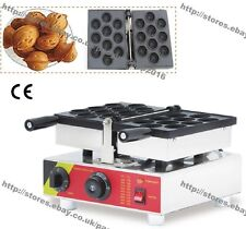 Nonstick Electric 10pcs Russian Oreshki Walnuts Waffle Baker Maker Iron Machine